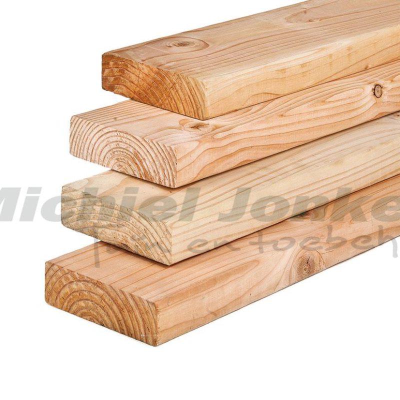 lariks-timmerhout-geschaafd