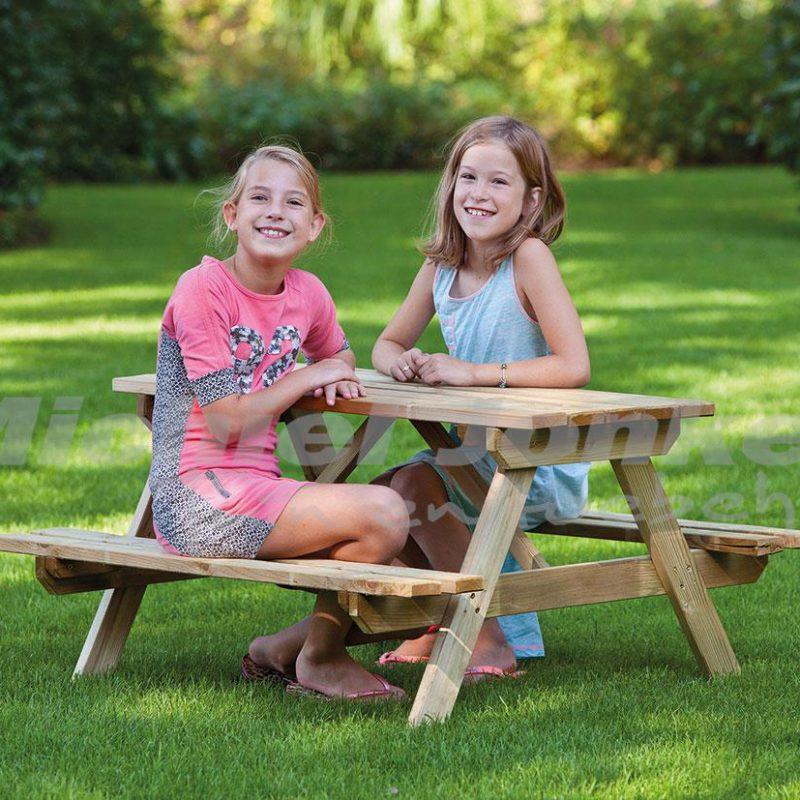 picknicktafel grenen